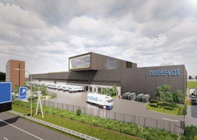 Neele-Vat Logistics te Rotterdam-Pernis